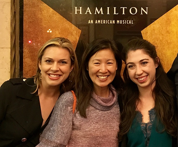 Dr.YU, Erin, and Emma at Hamilton